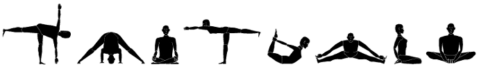 yoga positions graphic
